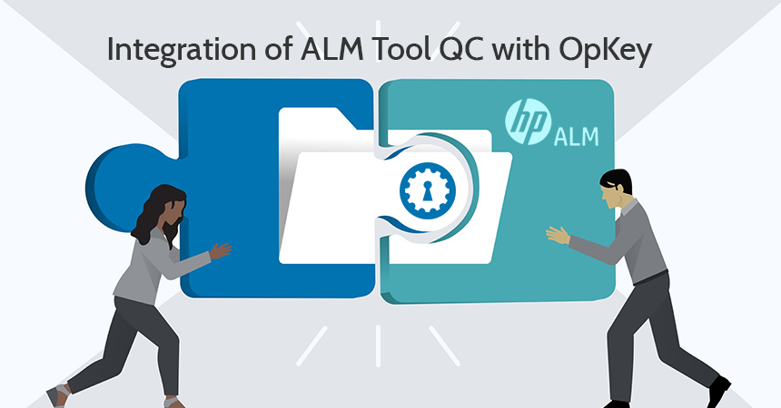 Integration of ALM Tool QC with OpKey