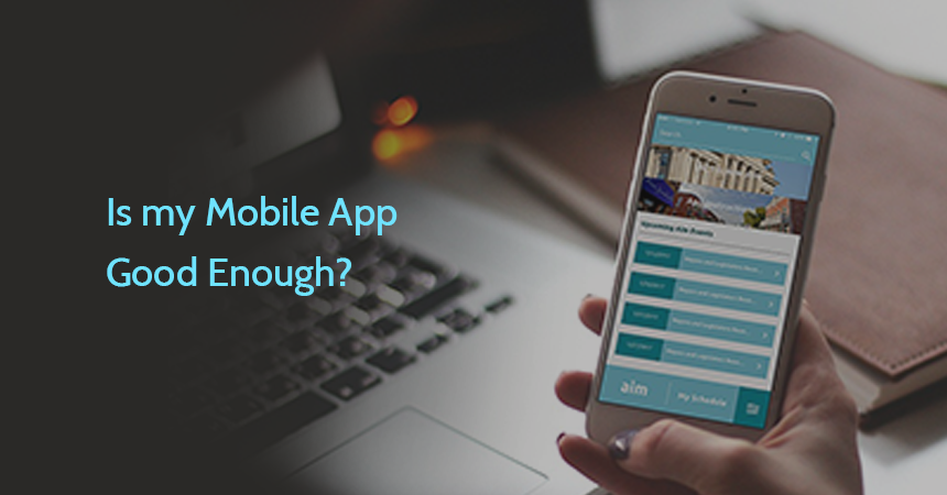Is my Mobile App Good Enough?