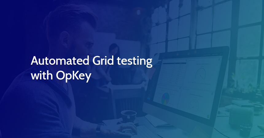 Automated Grid testing with OpKey