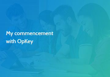 My commencement with OpKey